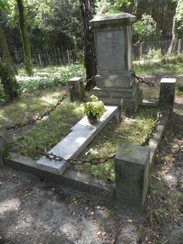 2013-08-14 Stanisławów Lipski - cmentarz ewangelicki (6)