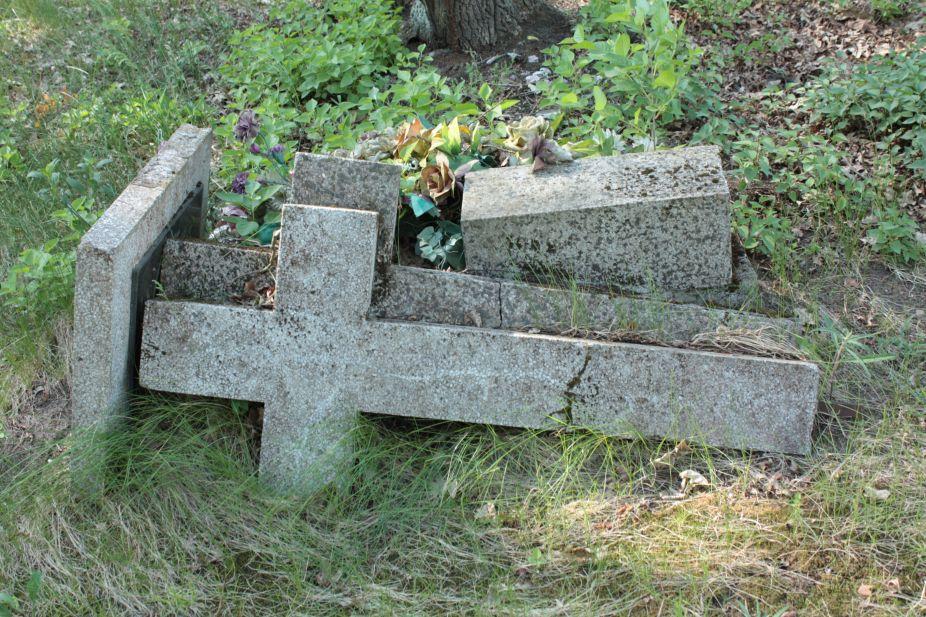 2018-05-13 Stanisławów Lipski - cmentarz ewangelicki (19)