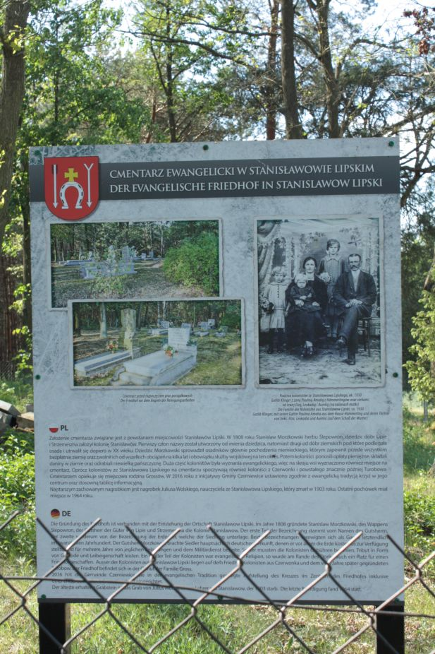 2018-05-13 Stanisławów Lipski - cmentarz ewangelicki (2)