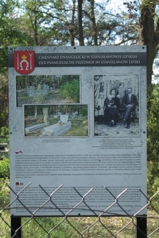 2018-05-13 Stanisławów Lipski - cmentarz ewangelicki (3)