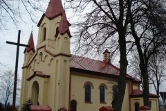 2006-12-10 Gomulin - kościół murowany (1)