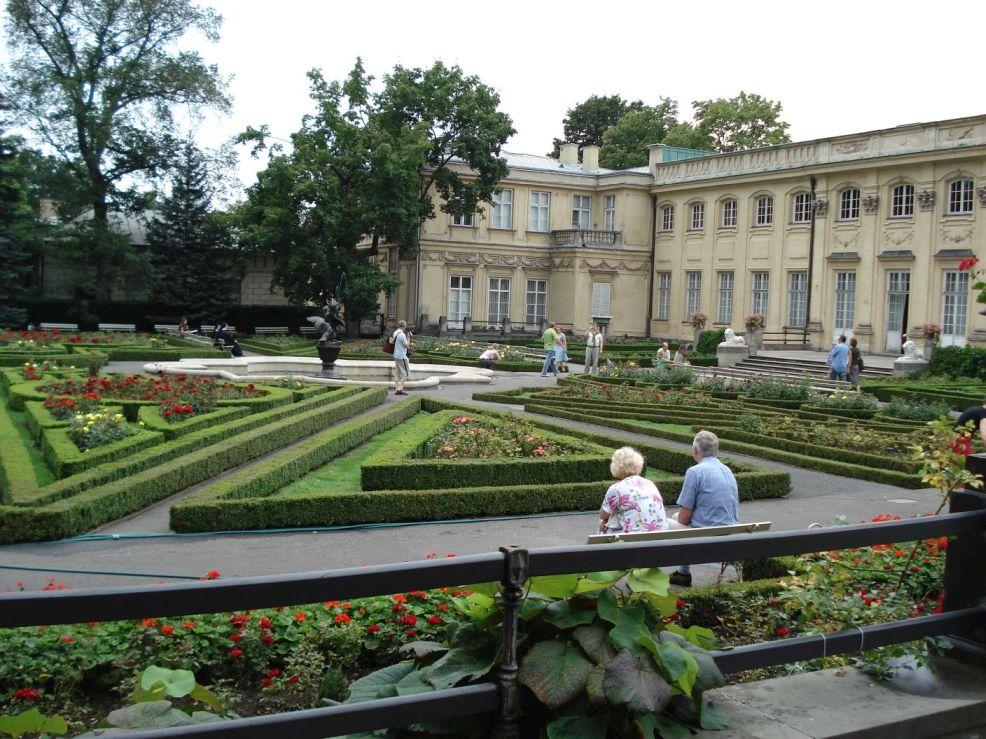 2006-08-20 Warszawa - Wilanów pałac (18)