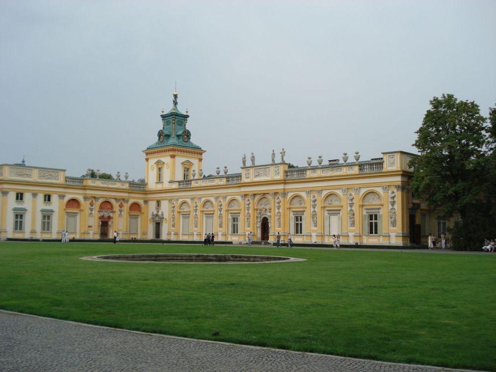 2006-08-20 Warszawa - Wilanów pałac (22)