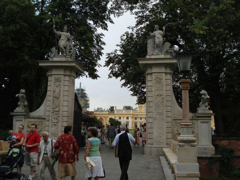 2006-08-20 Warszawa - Wilanów pałac (24)