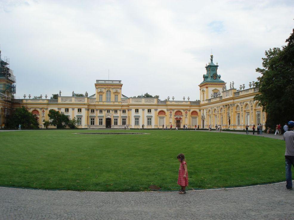2006-08-20 Warszawa - Wilanów pałac (26)