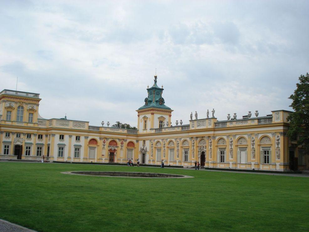 2006-08-20 Warszawa - Wilanów pałac (28)