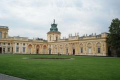 2006-08-20 Warszawa - Wilanów pałac (1)