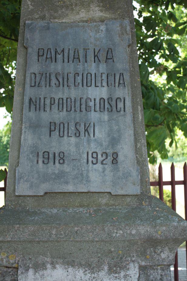 2018-05-20 Wysokienice - pomnik (5)