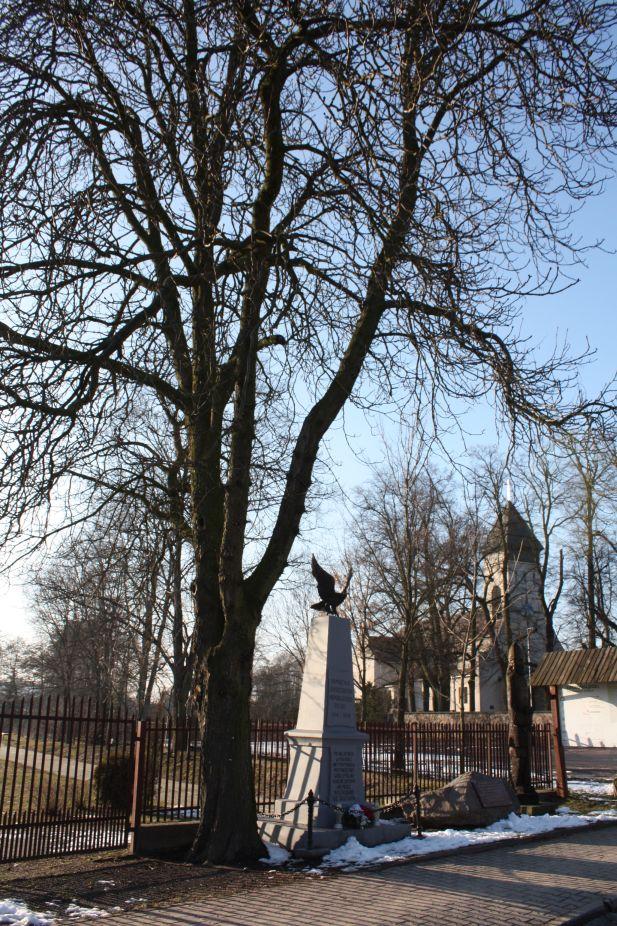 2019-02-09 Wysokienice - pomnik (2)