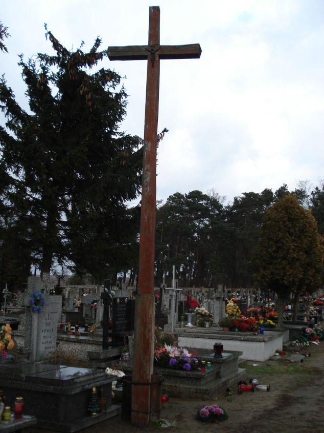 2007-01-14 Żelazna - cmentarz parafialny (11)