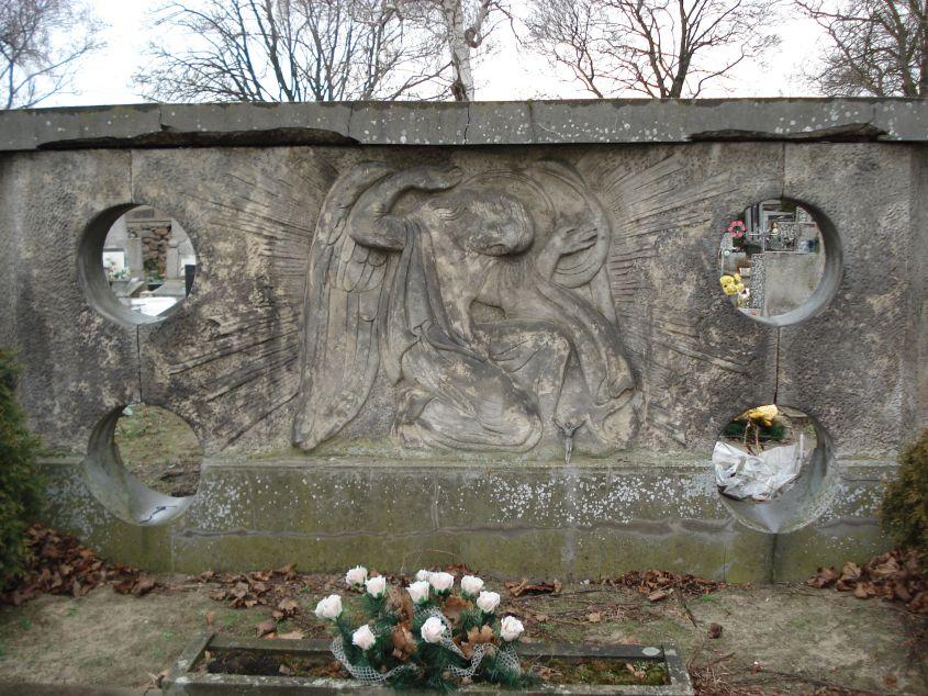 2007-01-14 Żelazna - cmentarz parafialny (20)