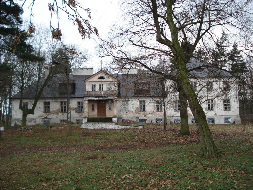 2007-01-14 Wilkowice - pałac (10)