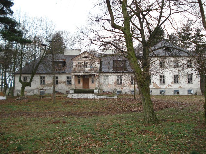 2007-01-14 Wilkowice - pałac (11)