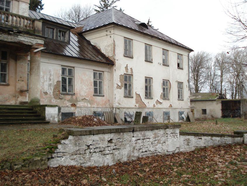 2007-01-14 Wilkowice - pałac (7)