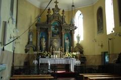 2006-08-15 Inowłódz - kościół murowany parafialny (2)