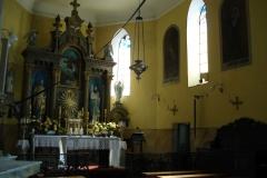 2006-08-15 Inowłódz - kościół murowany parafialny (9)
