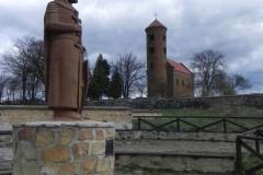 2011-04-10 Inowłódz - kościół mur. św. Idziego (5)