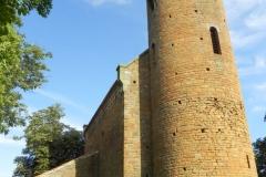 2011-08-21 Inowłódz - kościół mur. św. Idziego (2)