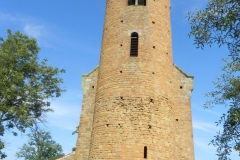 2011-08-21 Inowłódz - kościół mur. św. Idziego (3)