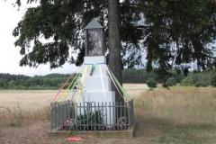 2018-07-01 Księża Wola kapliczka nr1 (1)