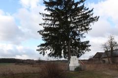 2019-01-03 Księża Wola kapliczka nr1 (2)