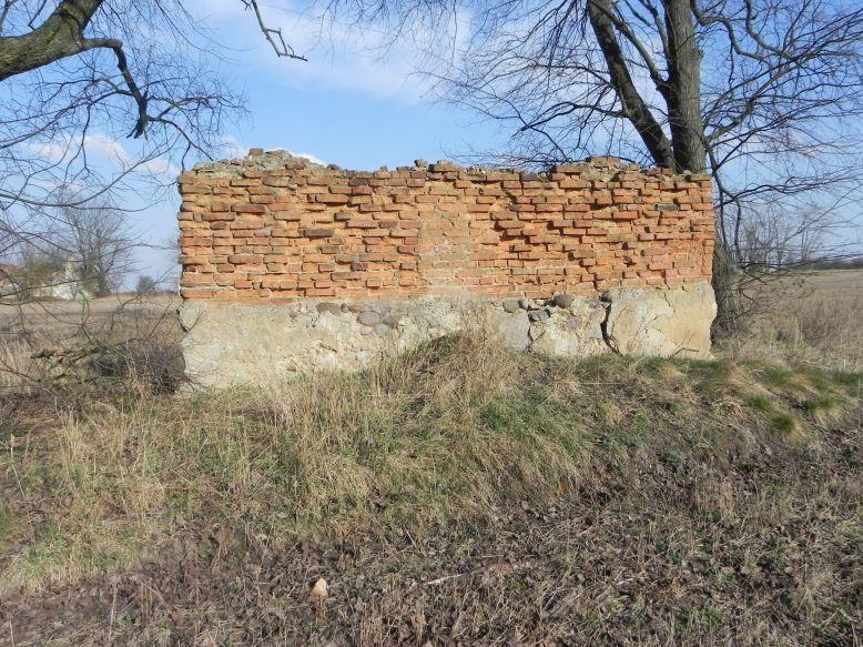 2018-04-08 Brzozówka - mur i piwnice (3)