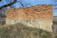 2018-04-08 Brzozówka - mur i piwnice (5)