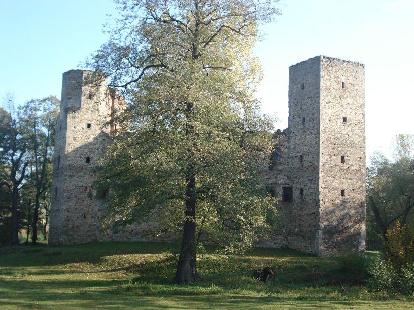 2007-10-21 Drzewica - ruiny zamku (11)