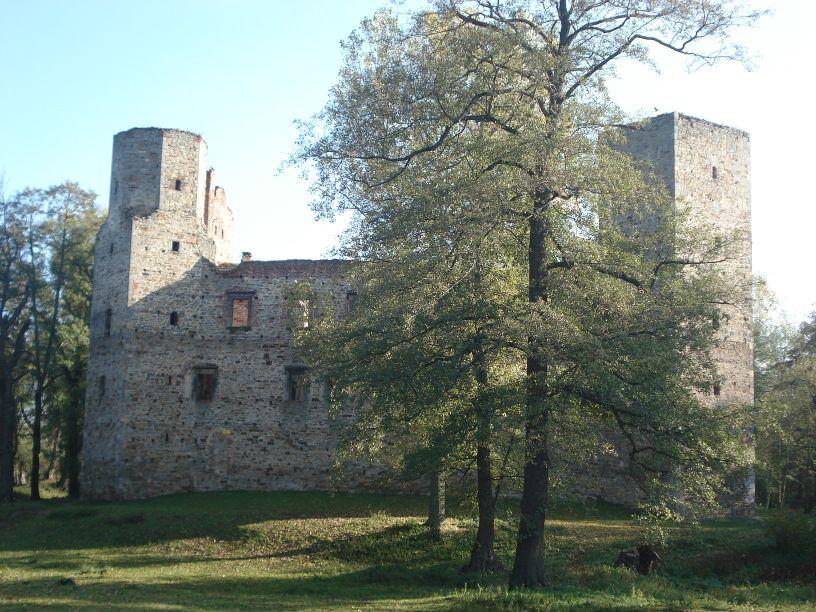 2007-10-21 Drzewica - ruiny zamku (12)