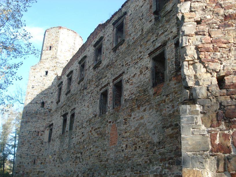 2007-10-21 Drzewica - ruiny zamku (33)