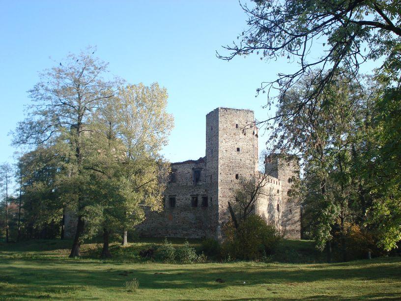 2007-10-21 Drzewica - ruiny zamku (4)