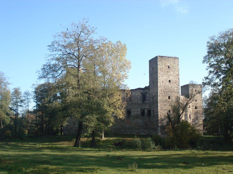 2007-10-21 Drzewica - ruiny zamku (5)