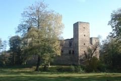 2007-10-21 Drzewica - ruiny zamku (6)