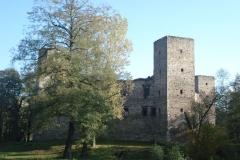 2007-10-21 Drzewica - ruiny zamku (9)