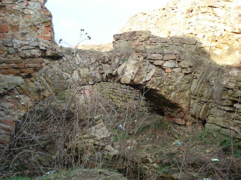 2007-02-06 Inowłódz - ruiny zamku (18)