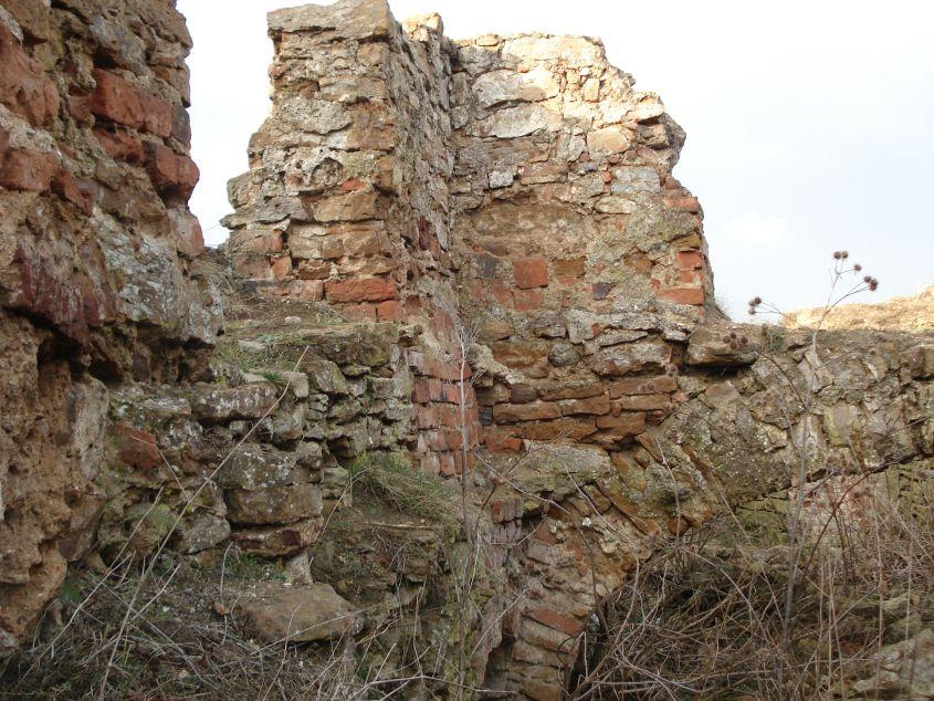 2007-02-06 Inowłódz - ruiny zamku (19)