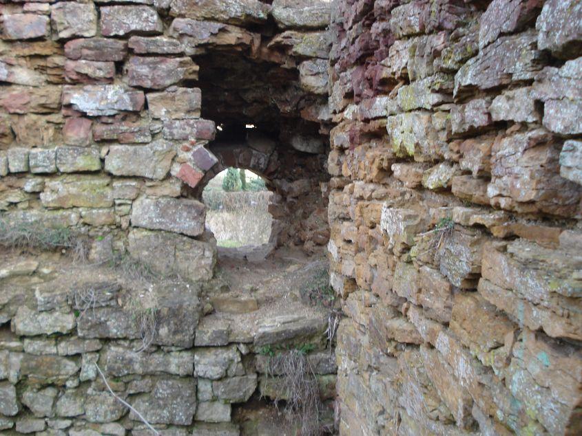 2007-02-06 Inowłódz - ruiny zamku (21)