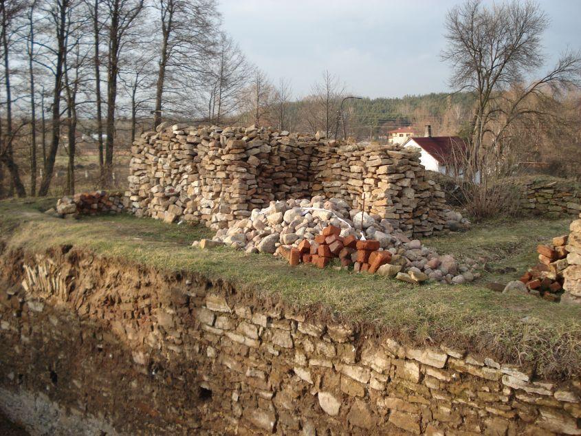 2007-02-06 Inowłódz - ruiny zamku (26)