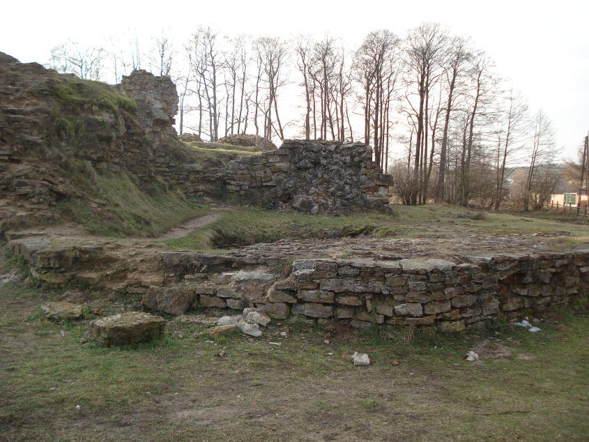 2007-02-06 Inowłódz - ruiny zamku (3)
