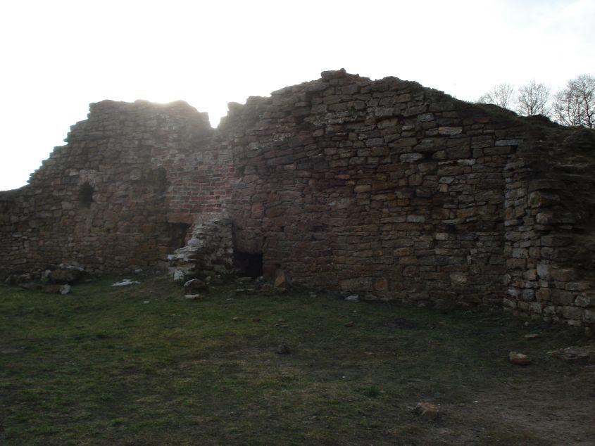 2007-02-06 Inowłódz - ruiny zamku (4)