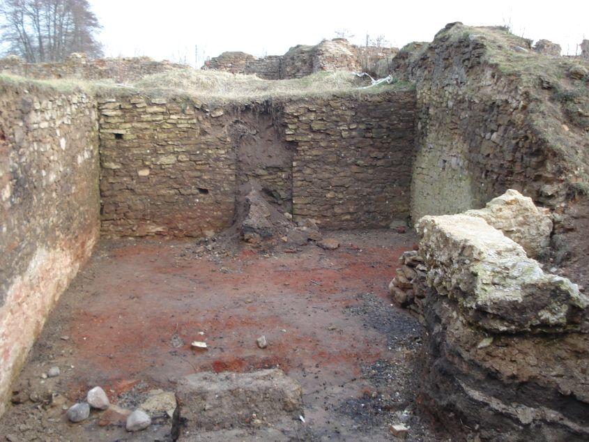 2007-02-06 Inowłódz - ruiny zamku (56)