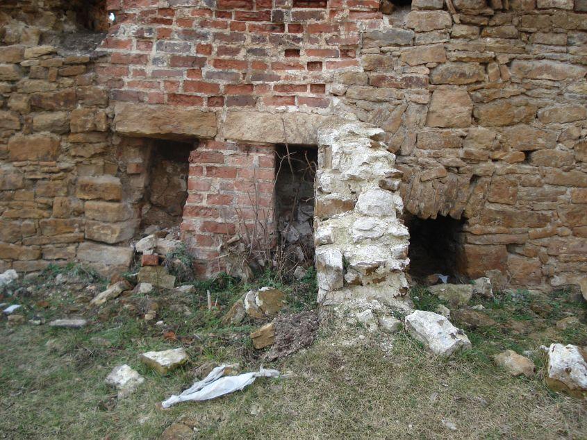 2007-02-06 Inowłódz - ruiny zamku (6)