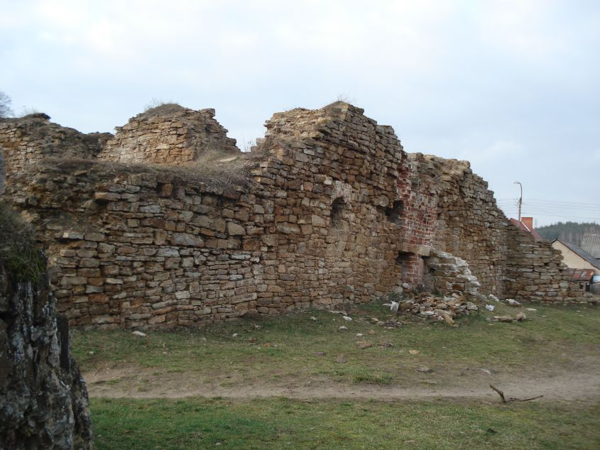 2007-02-06 Inowłódz - ruiny zamku (72)