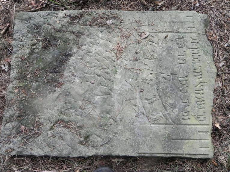 2011-08-07 Inowłódz - cmentarz żydowski (1)