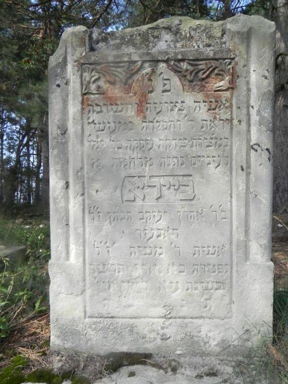 2011-08-07 Inowłódz - cmentarz żydowski (12)