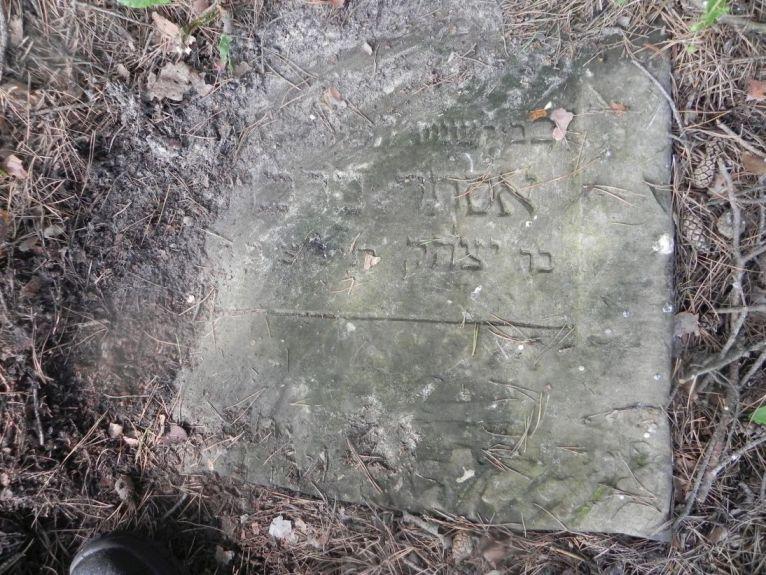 2011-08-07 Inowłódz - cmentarz żydowski (6)
