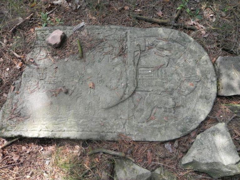 2011-08-07 Inowłódz - cmentarz żydowski (62)