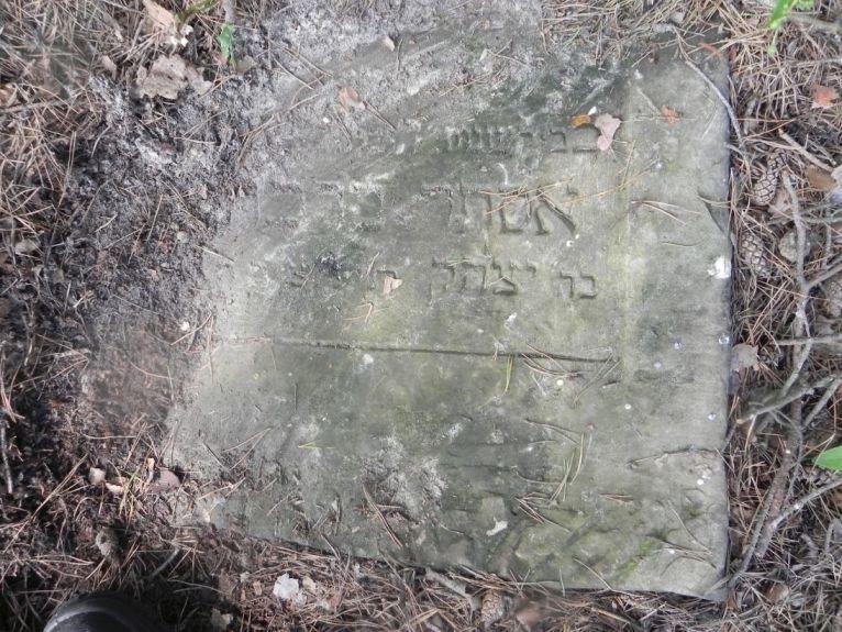 2011-08-07 Inowłódz - cmentarz żydowski (7)