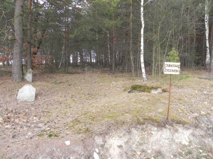 2014-04-06 Inowłódz - cmentarz żydowski (1)