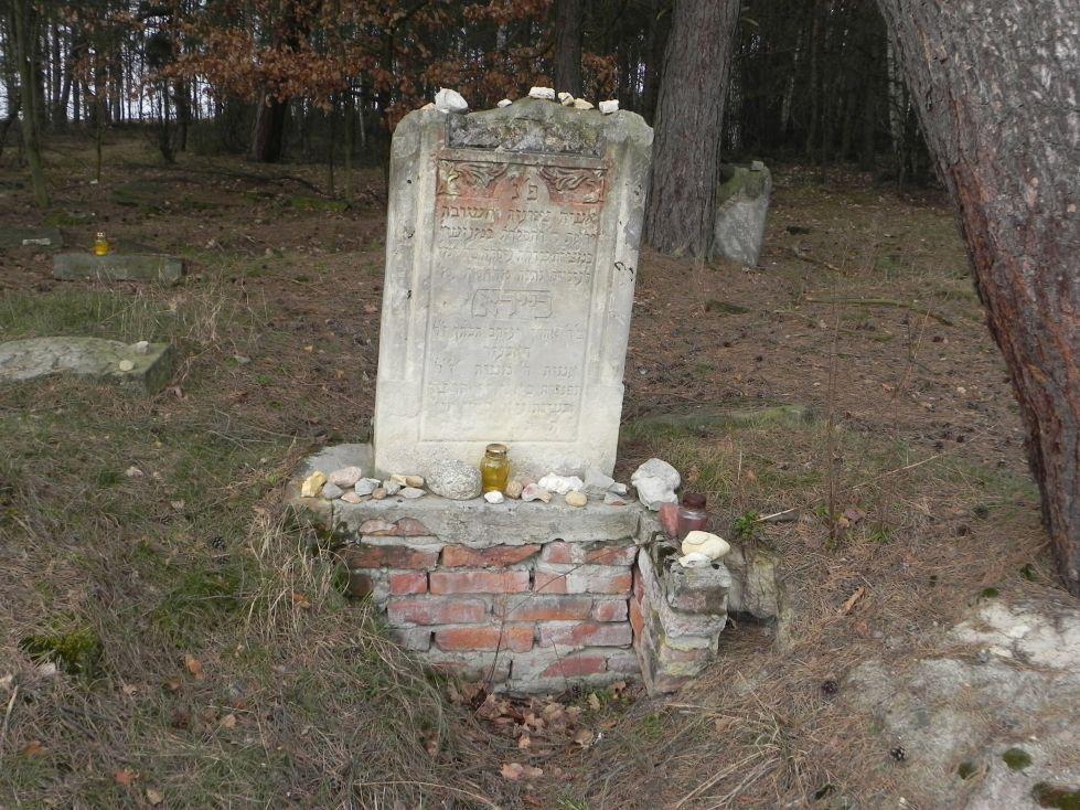 2014-04-06 Inowłódz - cmentarz żydowski (2)